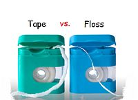 Floss vs tape12 Dental Floss vs. Dental Tape