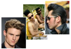 Hairstyles1 New Hair Trends: Hairstyles with height... Will your face shape work?