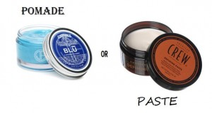 Pomade or Paste&#8230; What&#8217;s the difference?