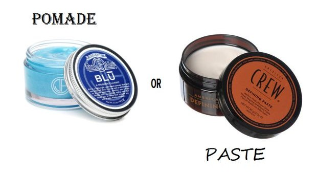 Pomade & Paste: What's The Difference And Which Should You Use