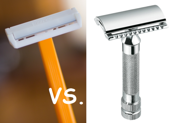 single blade bic vs de razor what 39 s the difference. Black Bedroom Furniture Sets. Home Design Ideas